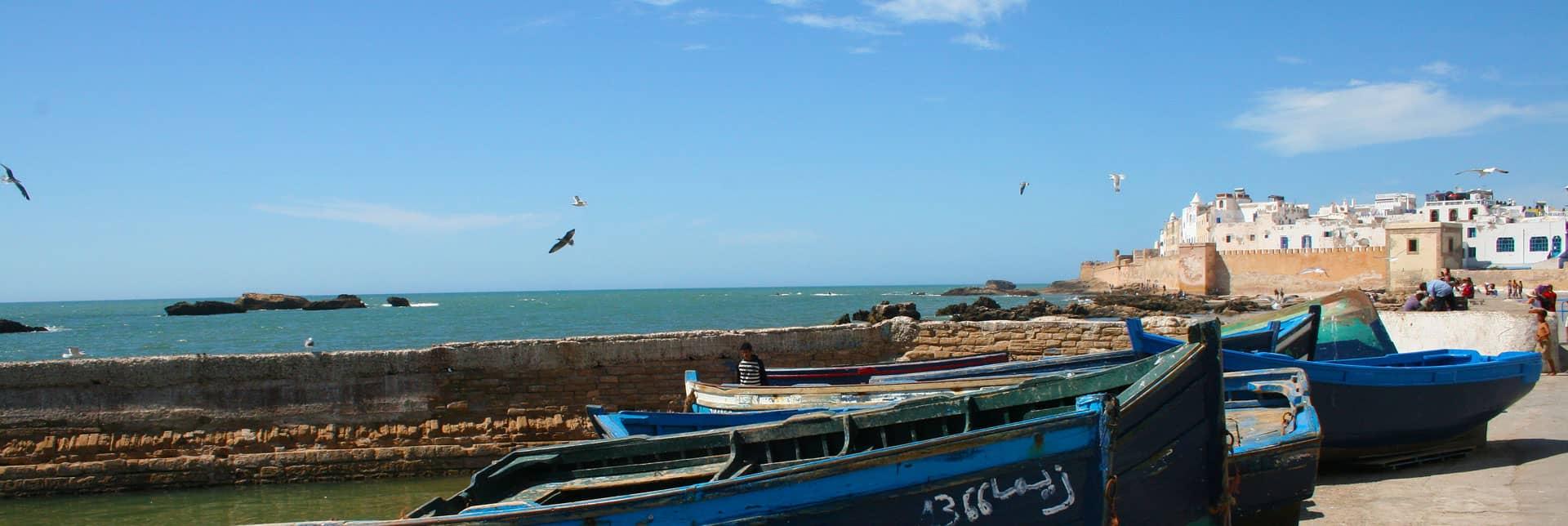 Goedkoop vliegen naar Marokko.