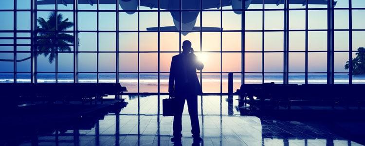Pak meenemen in het vliegtuig