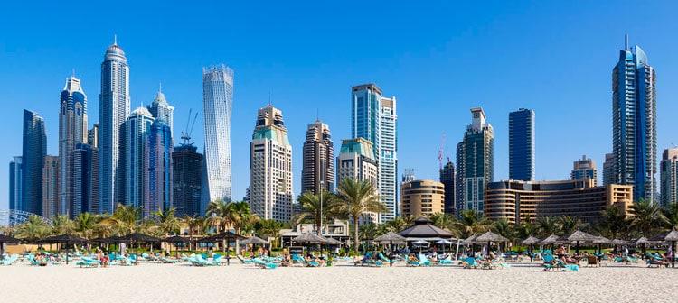 Dubai The Beach