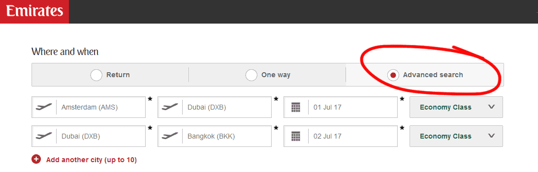 Stopover in Dubai maken