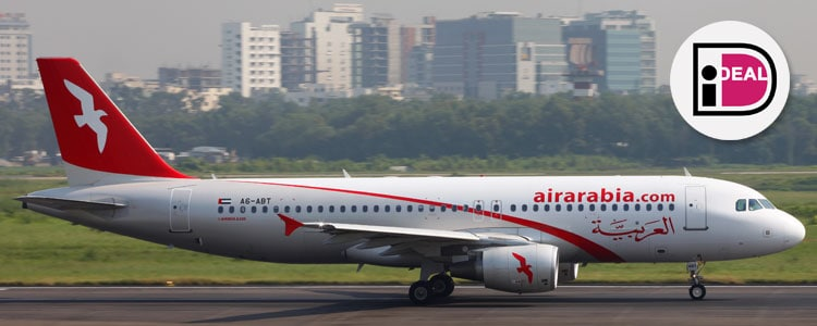 Air Arabia betalen met iDEAL