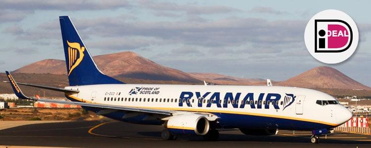 Ryanair betalen met iDEAL