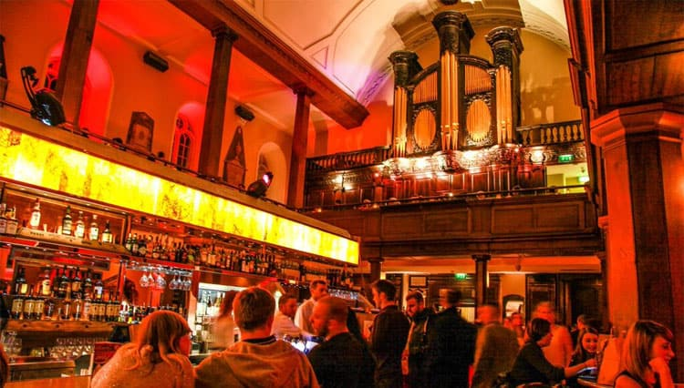 The Curch bar Dublin