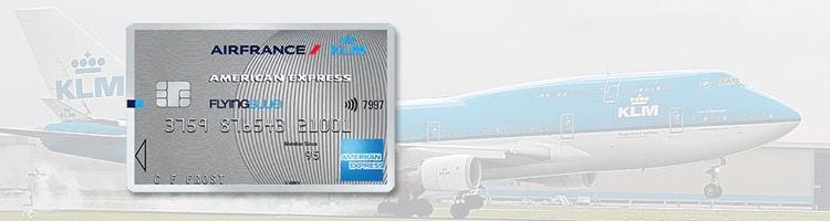 Betaal vliegtickets in delen met American Express voor bestemmingen van KLM en Air France.