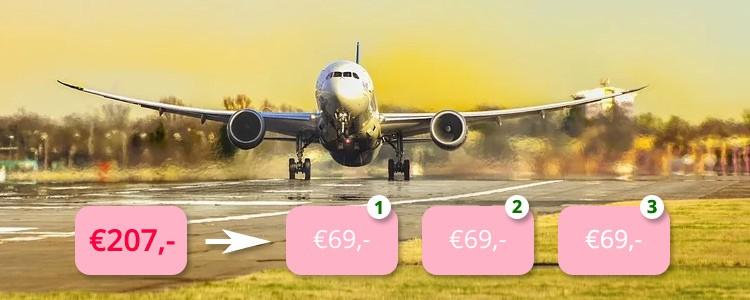 Vliegtickets betalen in termijnen